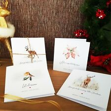 Christmas Cards Pack of 6 - Handmade & Includes Envelopes - Multibuy Discount