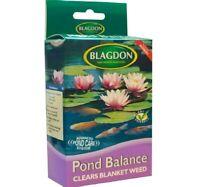 POND BALANCE - (200g) - Blagdon Treatment Clears Algae Blanket Weed bp Fish Pack