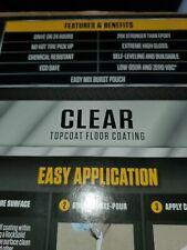 Rust-Oleum RockSolid 90 oz. Clear Polycuramine Top Coat Garage Floor Kit 286897