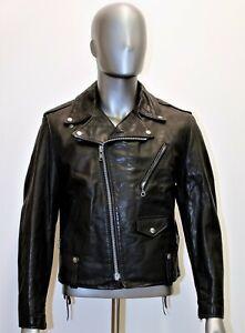 Blouson Perfecto SCHOTT 115 vintage cuir noir 40 US 48EUR made in USA