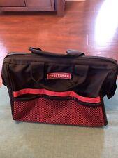 Craftsman Cloth Toolbag Black/Red