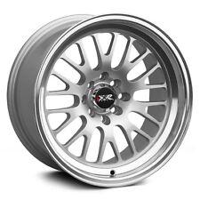 17x8 XXR 531 Rims 5X100/114.3 +35 Silver Wheels Fits Subaru Impreza Wrx
