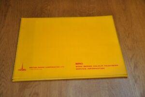 Ferguson, Ultra BRC 8000 Colour Television Receiver Service Manual