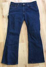 Ralph Lauren Polo Blue Jeans Co Women's Denim Modern Bootcut Stretch 12 X 30