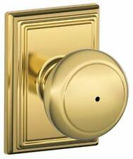 Schlage F40-AND-ADD Andover Privacy Door Knob Set