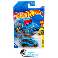 Hot Wheels Roller Toaster (Blue) Fast Foodie 4/5 2020 C Case #39
