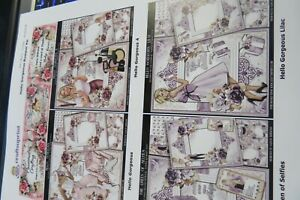 Craftsuprint 25 sheet kit - Hello Gorgeous Bumper Kit