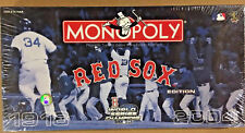 New Monopoly MBL Boston Red Sox 2004 Collector's Edition Board Game World Series