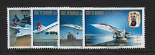 1976 Bahrain: First Commercial Flight of Concorde complete set SG232-235 MNH