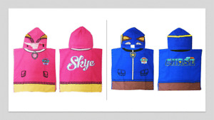 PAW PATROL Skye Chase Hooded Ponchos OFFICIAL MERCHANDISE