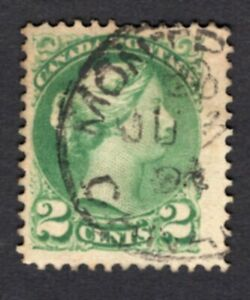 Canada 1878-1888 stamp SG#78 used lot2