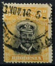 British South Africa Company Rhodesia 1913-24 3d Die I Used P15 #D25136