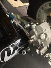 LTR450 REAR BRAKE Conversion bracket twin piston caliper  w/ galfer line 06-09