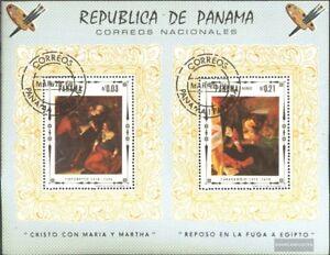 Panama block81 (complete issue) used 1968 Jesus Christ Painting