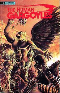 THE HUMAN GARGOYLES #4 [Last Issue, Alan Hewetson, Maelo Cintron, Skywald]