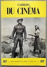 CAHIERS DU CINEMA n°157 CHEVAUCHEE DE LA VENGEANCE Ride Lonesome SCOTT 1964 *