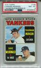 1970 Topps #189 Thurman Munson Rookie PSA 8 NM-MT New York Yankees