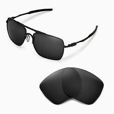 New WL Black Replacement Lenses For Oakley Deviation Sunglasses