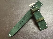 New Material! Suede Leather Watch Strap for Luxury watch (20/16mm) - Best Deal!!