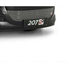 Zunsport Argento Ant. Griglia Inferiore per Peugeot 207 2009-12 Restyling