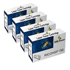 4 Black NON-OEM Toner Cartridges For Ricoh SP150 SP150SU SP150SUW