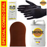 Best Spray Tan Solution - VERY DARK - 16 oz + Sunless Tanning Self Tanner Lotion