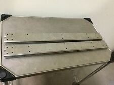 "Lot of 2 Full Extension Drawer Slide, Closed: 28"" Open: 56.5"", Double Rail"