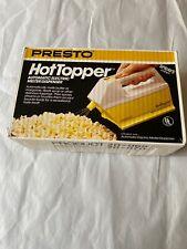 Vintage Presto Hot Topper Automatic Electric Butter Popcorn Melter Dispenser