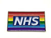 2020 Brand New UK Stock Thank You NHS well meet again Rainbow Pin Badge Brooch