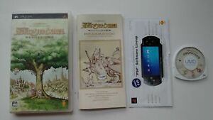 Popolocrois Story Adventure of Prince Pietro Complet Jeu de Rôle sur Sony PSP !!