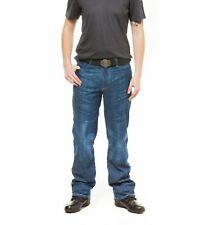 Draggin Jeans Drayko Traffik Blue Denim Motorcycle Trousers