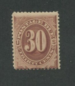 1884 Due Stamp #J20 Mint Lightly Hinged Average Original Gum