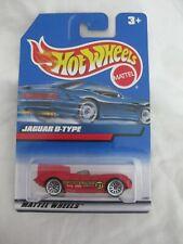 Hot Wheels 1999 Mainline Series Jaguar D-Type Mint In Card