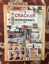 Cracker Kerosene Hat rare original promotional poster