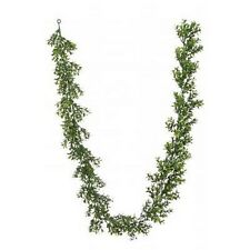 72 inch Artificial Outdoor Boxwood Garland Plant Arrangement Christmas Tree Swag