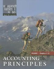 Paperback Volume 1 of Accounting Principles Chapters 1-12-ExLibrary