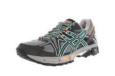 Asics Gel-Kahana 8 Trail Running Shoes Gray Black Blue Pink T6L5N Women Size 8.5