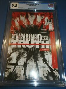Department of Truth #3 CGC 9.8 NM/M Gorgeous Gem Wow