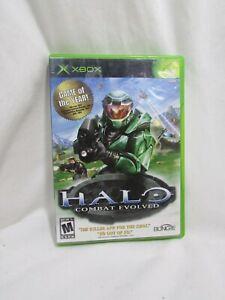 Halo: Combat Evolved (Microsoft Xbox, 2001) SEE DESCRIPTION