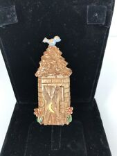 HMS Outhouse pendant with poop Gag Joke