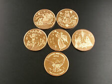 Christmas Rounds: One Ounce .999 Copper Christmas Rounds