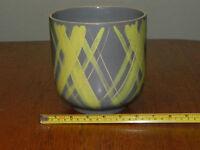 "6"" Vintage Handmade Vally Pottery  Planter California Jardiniere Flower Pot"