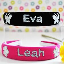 Personalised Hairbands Choose in Table Nice for Party Bag Nice Christmas Gift