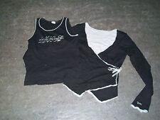 twin set IKKS noir et gris XS