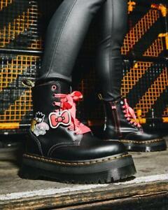 Dr. Martens X Jadon Hello Kitty & Friends Leather Platform Shoes UK 3 / 4