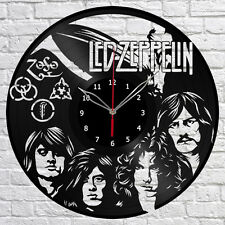 Led Zeppelin Vinyl Record Wall Clock Fan Art Home Decor Original Gift #1