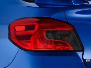 Fits Subaru WRX/STI 15-20 Tail Light Smoke Precut Tint Kit Film Cover Overlay