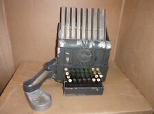 Vintage Johnson Farebox Coin Changer Counter - Bank - General Store Department
