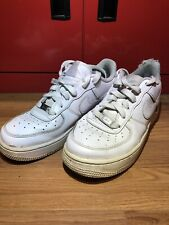 nike air force 1 Trainers - white - size 5