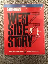 West Side Story 50th Anniversary Edition 4-disc DVD/Blu-Ray Set Collectible